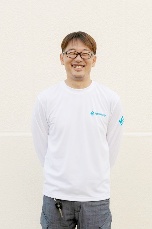 大工 工事部部長  初村 一朋